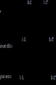 Figura 1.8. Fenileno con y sin grupos colgantes